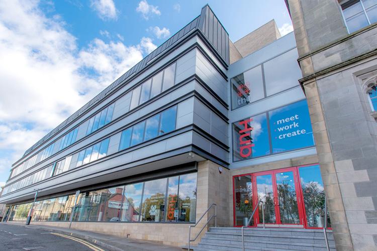 Falkirk Business Hub, Falkirk