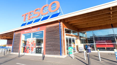Commercial Development – Tesco Superstore, Falkirk
