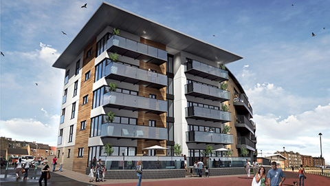 Residential Development - Portobello Sands, Edinburgh